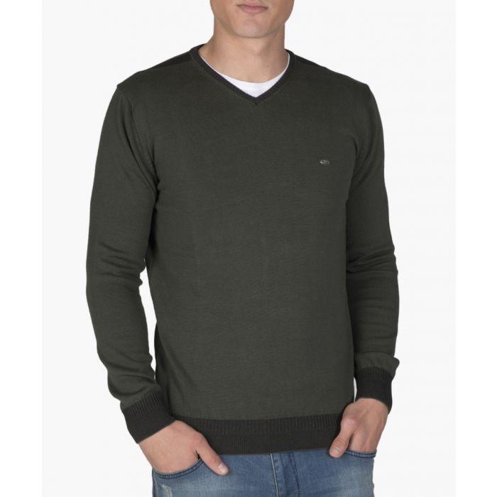 Image for Greencotton V-neck jumper