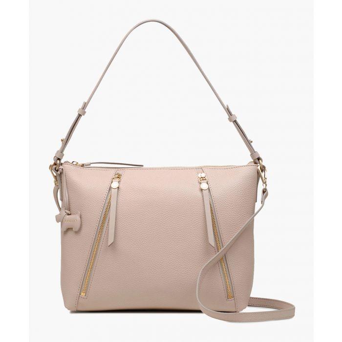 Image for Dove grey medium shoulder bag