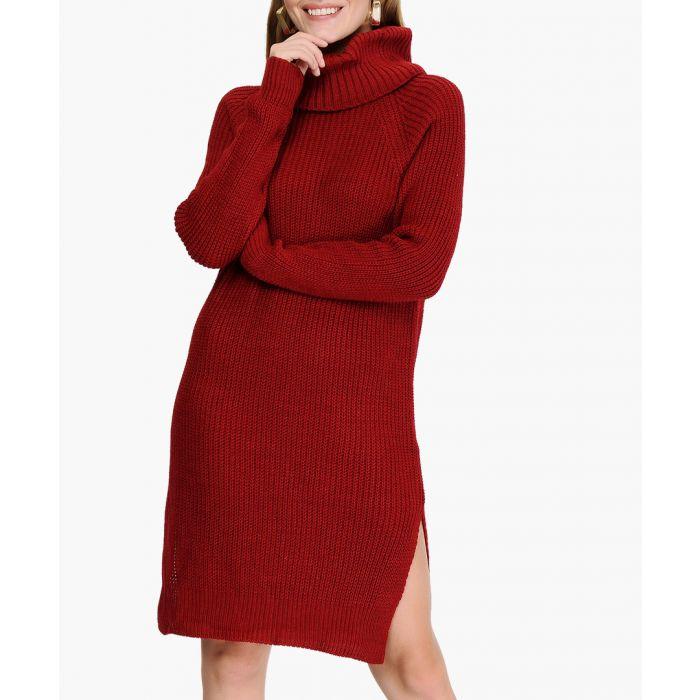 Image for Claret red jumper