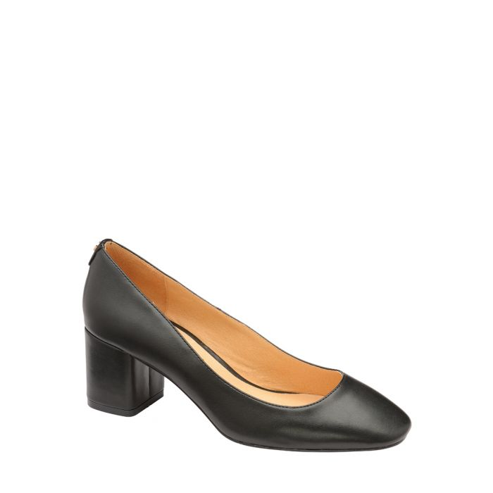 Image for Black block heels