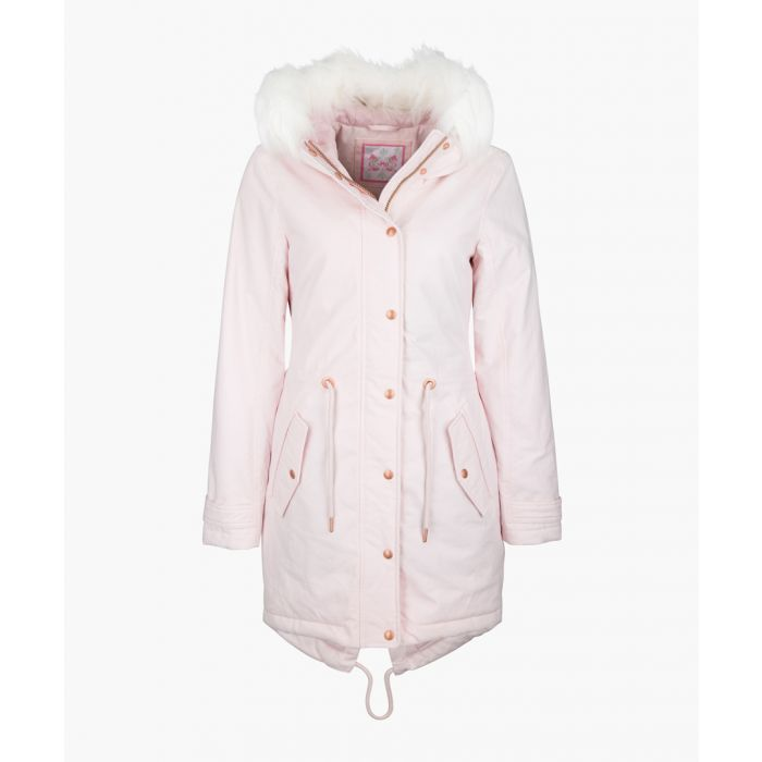 Image for Rose hooded print parka