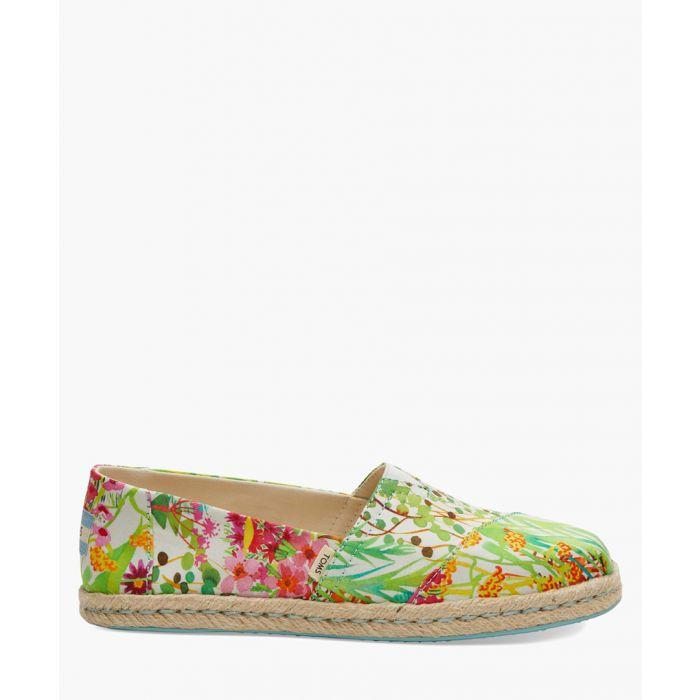 Image for Alpargata multi-coloured canvas shoes