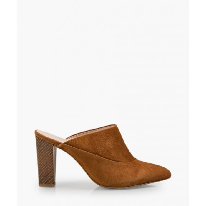 Image for Sappho tan suede boots