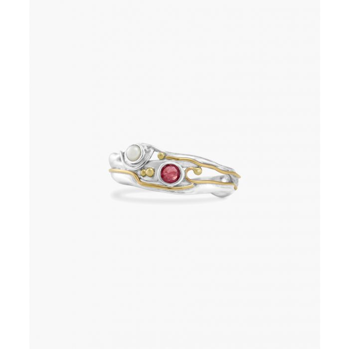 Image for Ruby and pearl ring