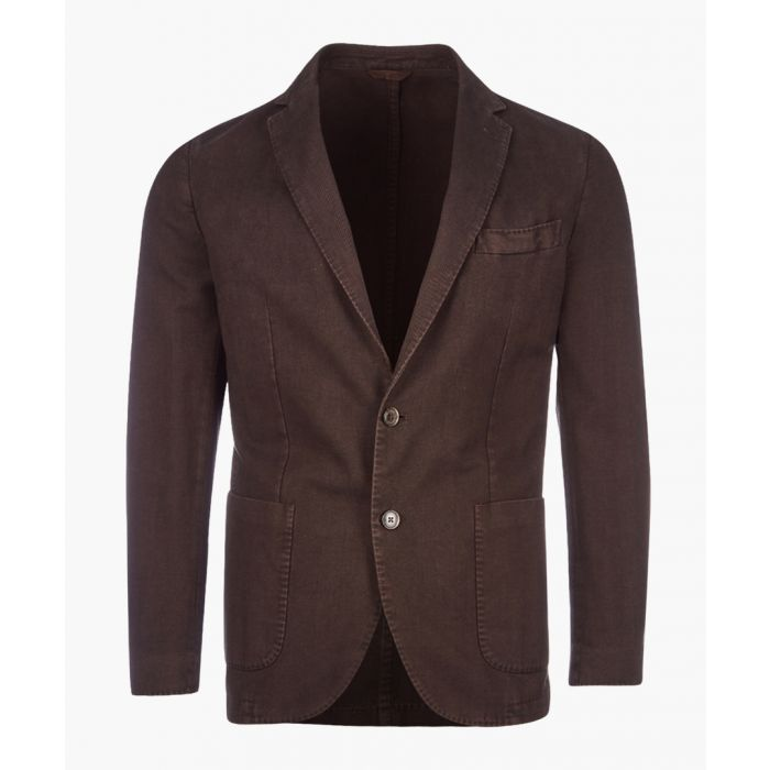 Image for Garment brown cotton jacket