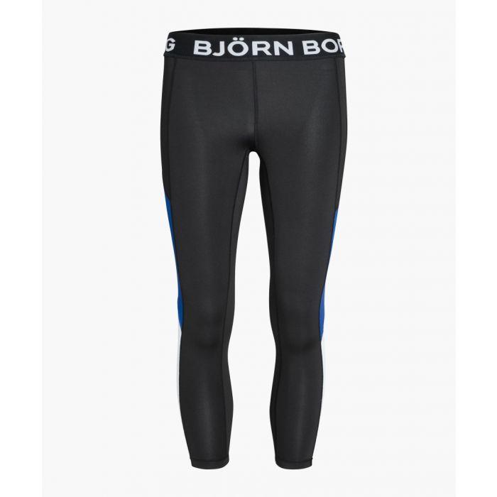 Image for Black cherry branded waistband leggings