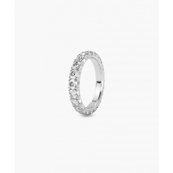 Image for 3.00ct diamond and platinum full eternity ring