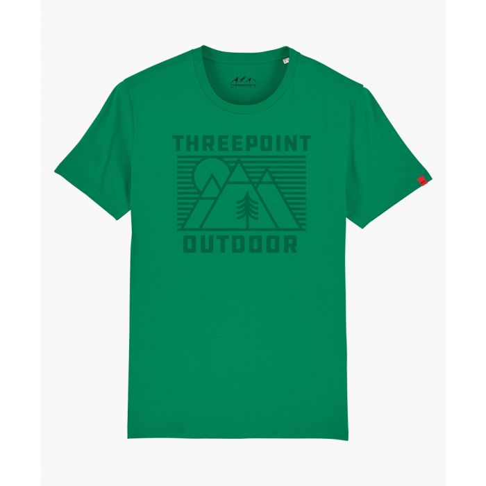 Image for Outdoor Lines green T-shirt