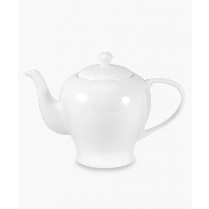 Image for Serendipity plain white bone china teapot