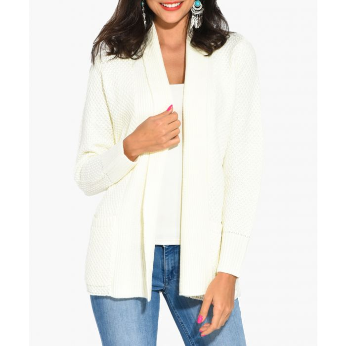Image for Natural cashmere and mohair blend cardigan