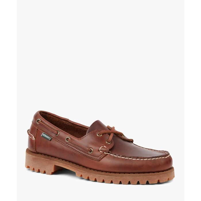 Image for Ranger Waxy brown leather shoes