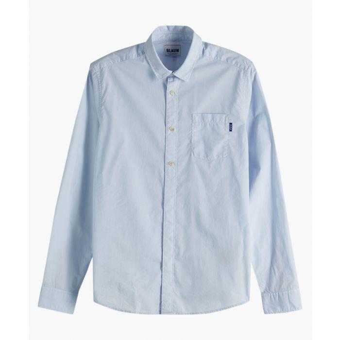Image for Light blue light weight shirt