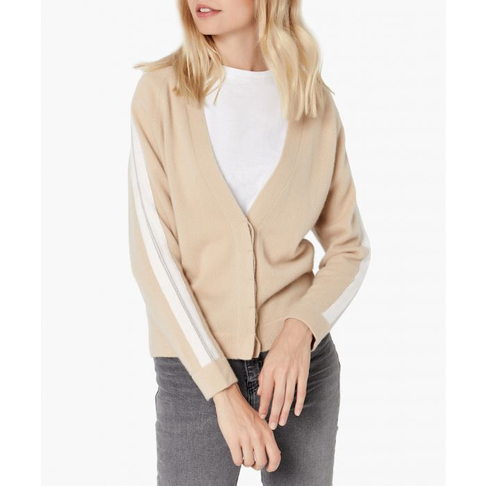Image for Camel pure cashmere cardigan