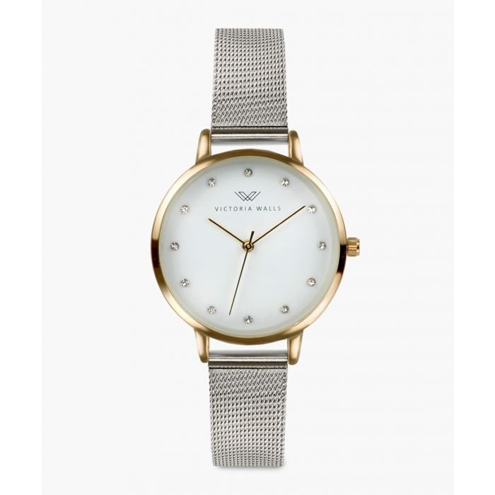 Image for Anya stainless steel analogue watch
