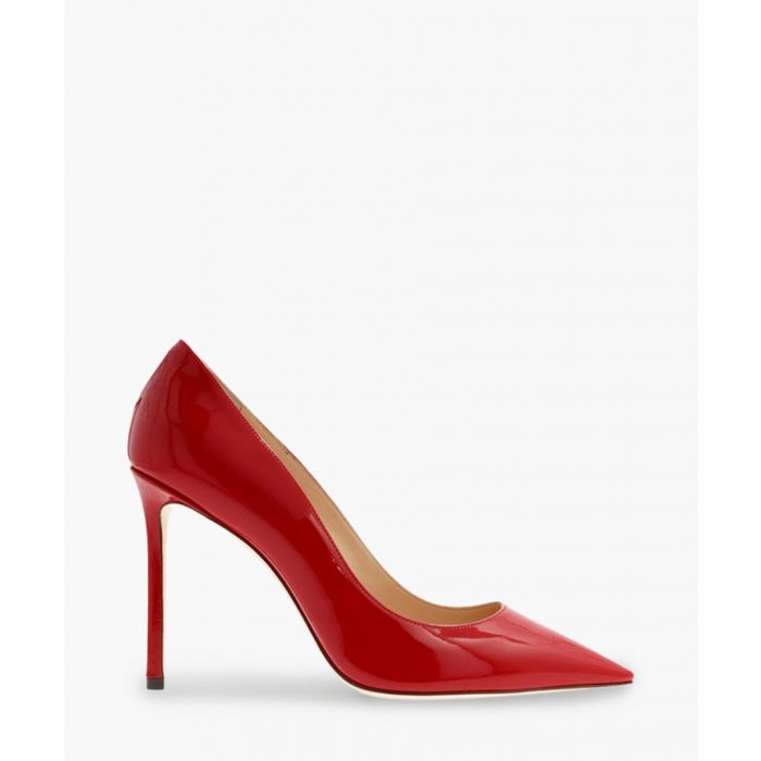 Image for Romy 100 red leather pumps
