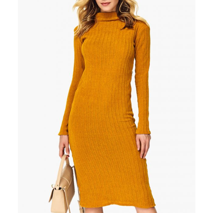 Image for Mustard knitted jumper