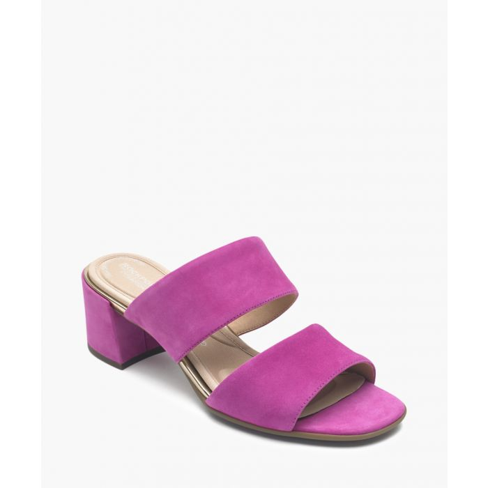 Image for Alaina magenta double strap sandals