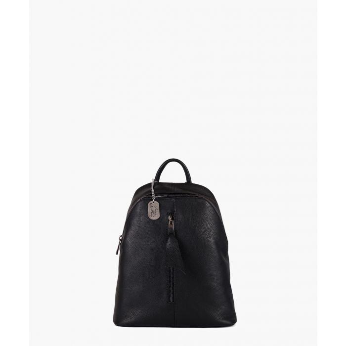 Image for Giorgia black backpack