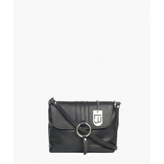 Image for Pietrasanta black leather crossbody