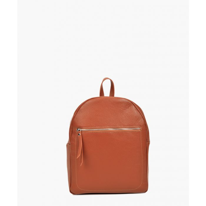 Image for Brown leather backpack