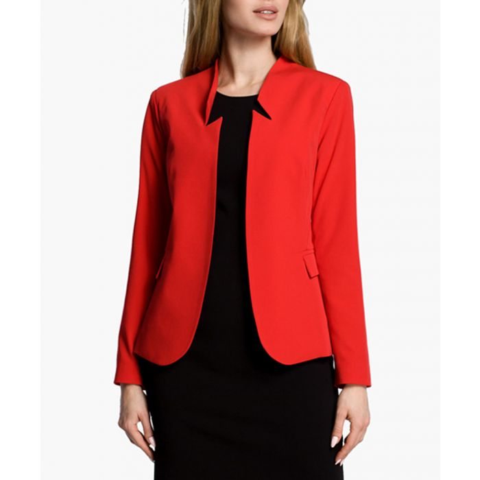 Image for Red Woven Jacket