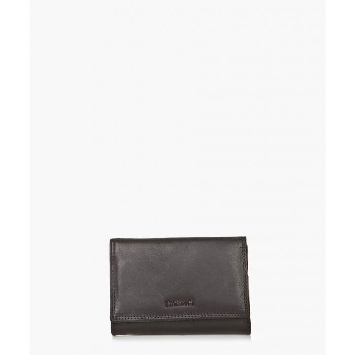 Image for Black leather wallet