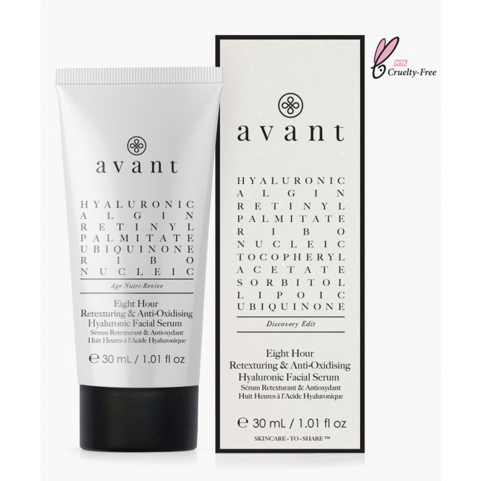 Image for Eight-hour anti-oxidising and retexturing hyaluronic facial serum