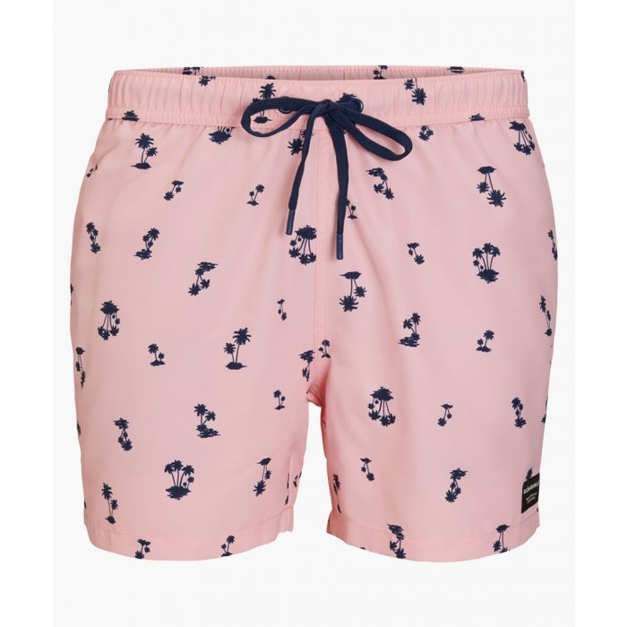 Image for Sylvester pink loose fit printed shorts