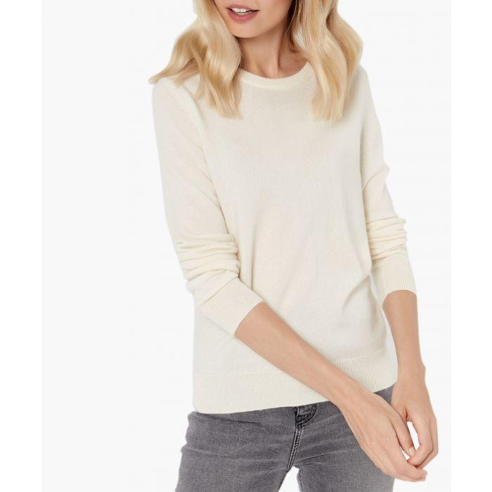 Image for Ecru pure cashmere jumper