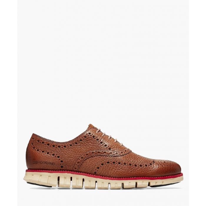 Image for Mens tan Oxford shoes