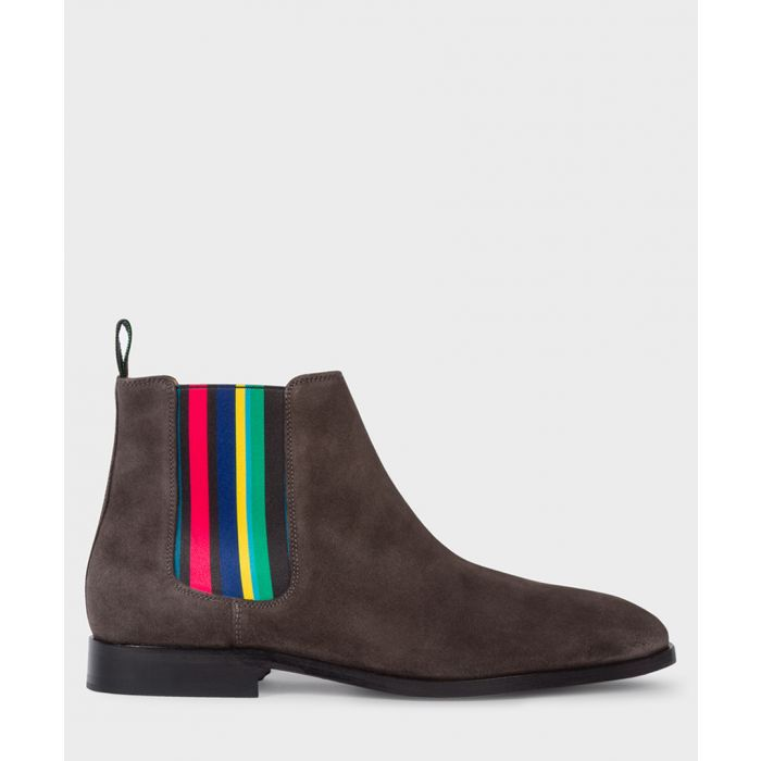 Image for Anthracite multi-coloured Chelsea boots