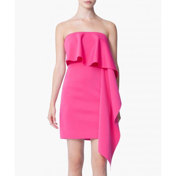 Image for Eleanor pink mini dress