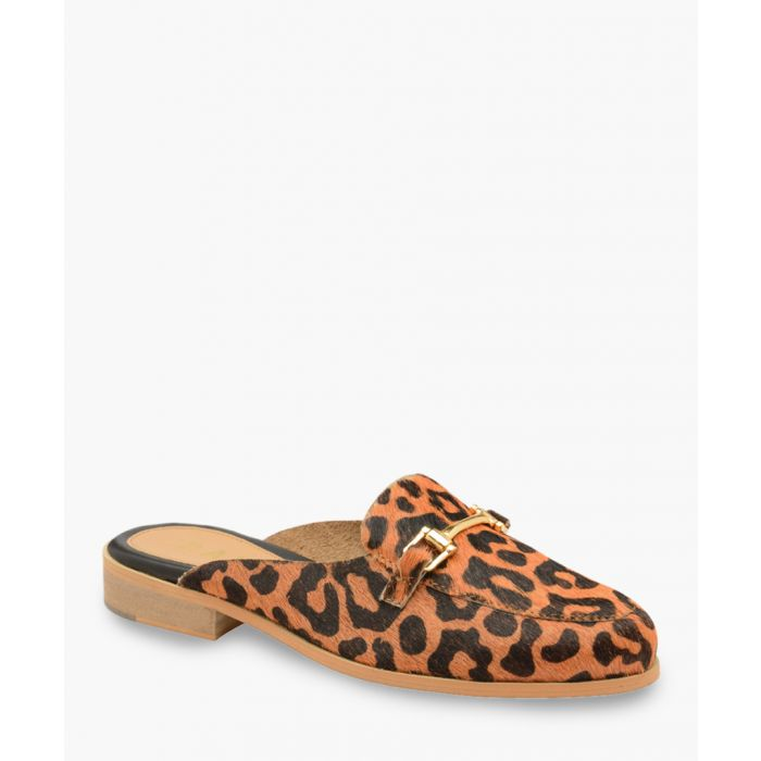 Image for Leopard print slip-on shoes