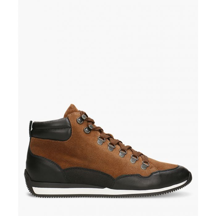 Image for Brown suede hiker trainers