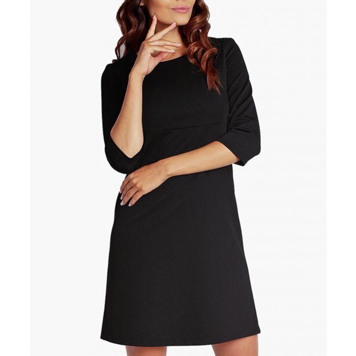 Image for Black knit dress