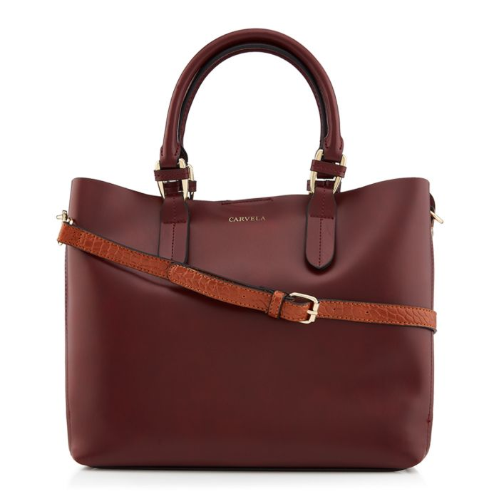 Image for Eleanor wine shoulder bag