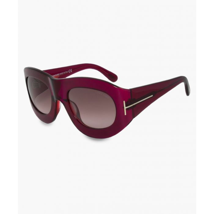 Image for Mila pink framed sunglasses