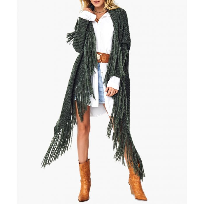 Image for Khaki wool blend jumper
