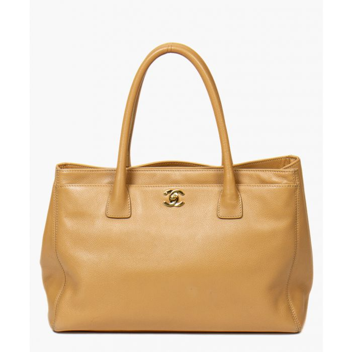 Image for Beige shoulder bag