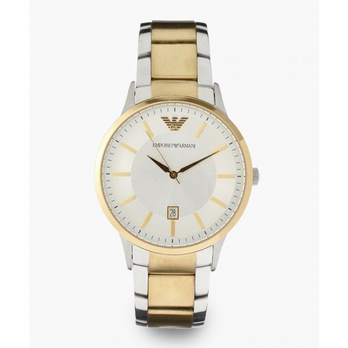 Image for Silver-tone and gold-tone steel watch