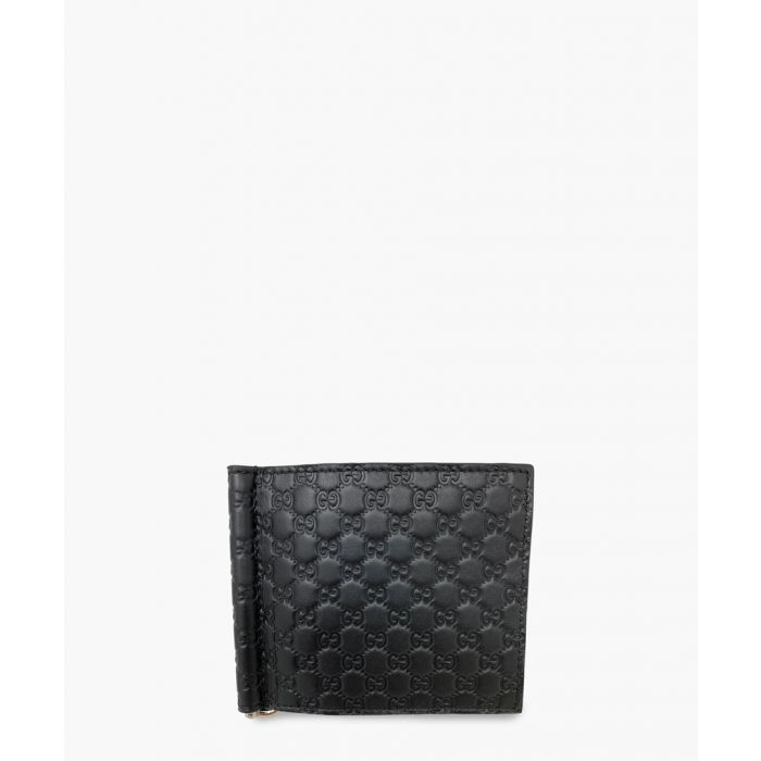Image for Gucci Guccissima paper clip leather wallet Wallets
