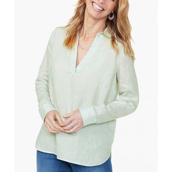 Image for Desert dew linen popover tunic