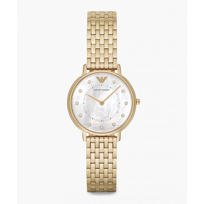 Image for Gold-plated quartz watch