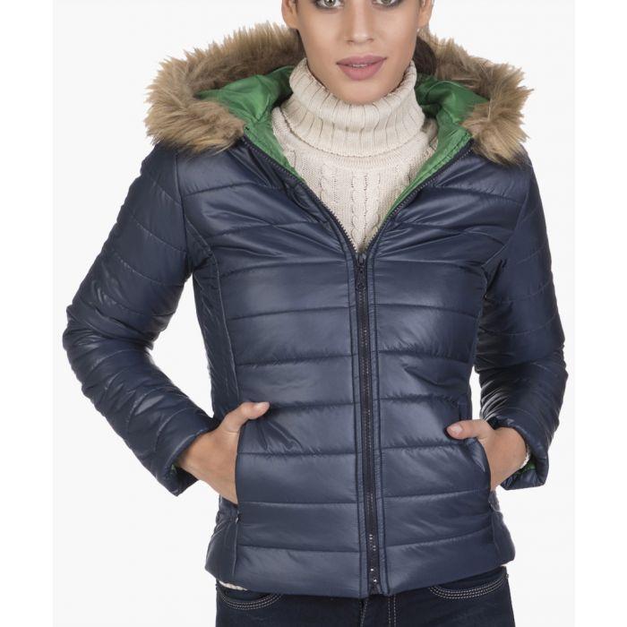 Image for Navy blue coat