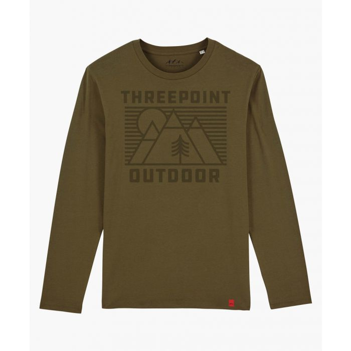 Image for Outdoor Lines khaki long sleeved top