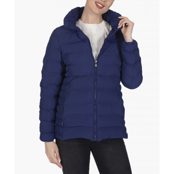 Image for Navy blue cotton coat