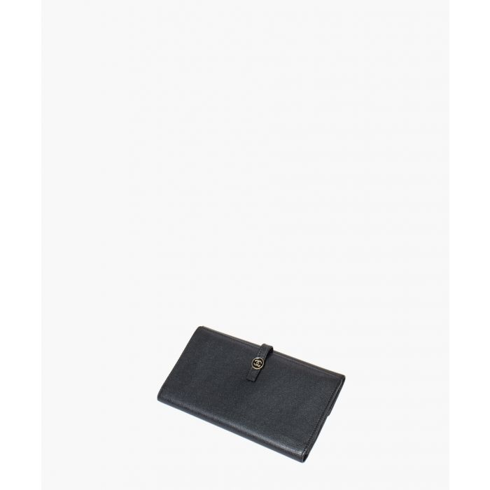 Image for Vintage Coco black logo wallet