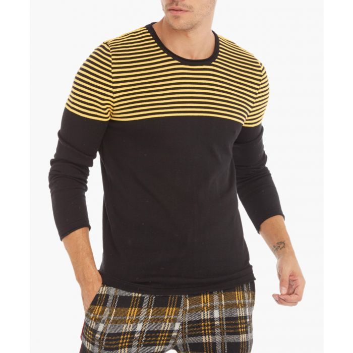 Image for Black and yellow jumper