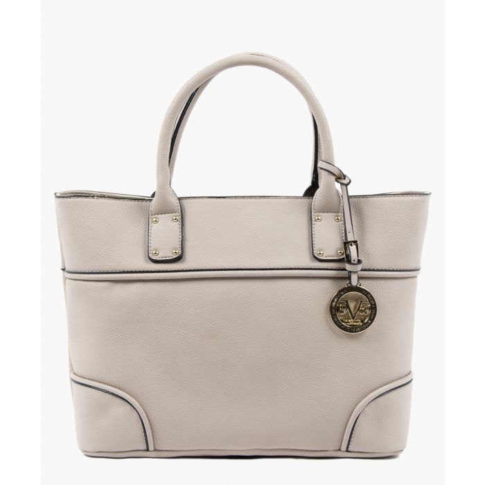 Image for Light grey piped detail grab bag