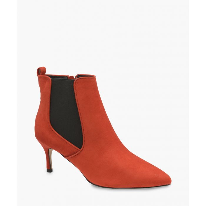 Image for Red ankle boots